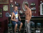 Jessie Colter has a job opening in his gay bar but (pretends) hes a little reluctant to hire a straight dreamboat like Rocco Reed. To be sure Rocco is going to be able to handle the advances from his customers, Jessie puts Rocco to the test. First the shirt comes off, then the pants and slowly turns up the heat until Rocco is pounding his hole and drenching him in cum.