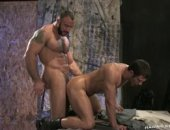 Hariry and tattooed Spencer Reed expands Spencer Foxs ass