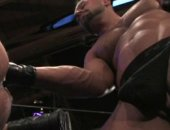 Sagat pushes his fist and arm well up Matthieu Paris ass !