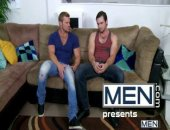 Landon Conrad knows that heartbroken Phenix Saint doesnt need a shoulder to cry on, he needs cock to sit on.  After some hot oral play, Landon informs Phenix hes going to fuck him and doesnt take no for an answer!
