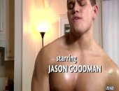Sebastian Keyes offers up two very willing holes for Jason Goodmans first gay porn scene!