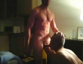 jock breeds a daddies willing hole after being serviced by him