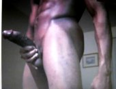 jerking a huge black cock