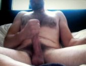 two fist stroking and enormous uncut cock