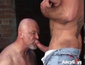 mature muscle hunks with beards sucking cock