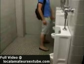 dudes jerking and pissing in public