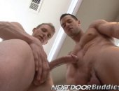 sexy stallions get each other hard and prepare to fuck