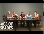 a game of cards turns to an amazing orgy