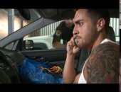 hot tattooed jock gets thrown out of his car ad fucked hard by a sexy security guard