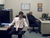 dudes in ties suck dick and fuck at the office