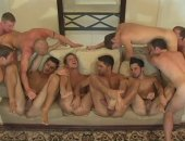 Chichi Larue new movie with ten guys in a lusty orgy including Dominic Pacifico, Shane Frost, Justin Taylor and much more.