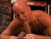 A hot hunk shows off his hard body and gets a deepthroat blowjob.