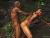 These two men enjoy the outdoors and they love to fuck.