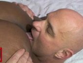 Bareback fucking, ass breeding, and cum eating is just some of the hot action that sexxxy He-Man stud Rich Wrangler gets into with black Raw top Kamrun.
