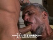 Hot MAture Guy Sucking Cock and Licking Ass.