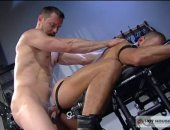 Brutal ass pounding is coming after a wild facefuck here!