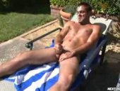 Its a beautiful morning stroke fest for the horny Justin.