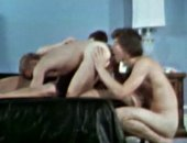 They Are Having a nice threesome vintage video.