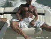 Masturbating on a boat