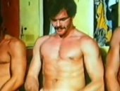 Hunks from the seventies line up and masturbating
