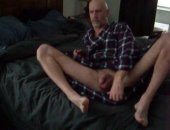 Jerking at home on webcam
