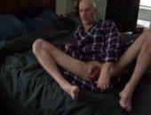 Jerking at home on webcam