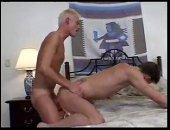 Hard anal sex between two skinny guys