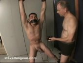 Shocking his private parts in my basement and then making him blow me.