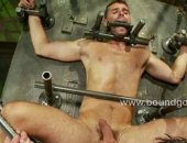 Invaded in his holes with big master dick.