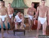 Like greek gods they command the new initiates to do sodomy.