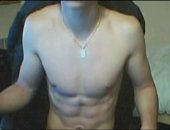 Ripped amateur guy jerks and cums hard