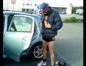 Random amateur dude showing off in the street