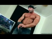 Max The Bodybuilder Shows Off His Package And Assets