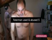 Fisterman used and abused by 5 horny guys. One hot afternoon at my home. He was blindfolded so never new who was fucking him. Fisterman will know the guys watching this kinky video.