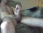 SUPER THICK COCK STROKING
