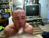 True Cock Worship - Sucking My Big Cock Part 7