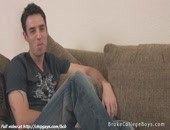 Pleasant Horny Twink Talking About Sex