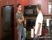 Jeremy tells Micah that hes having some problems with one of his kitchen appliances, and he would like to surprise his wife by fixing the microwave. Micah comes over to help, but is confused when he finds its in working order. Jeremy admits, nothing is wrong, but his wife really likes to see him cook in the kitchen. Like the microwave, and a little defrost, it doesnt take either of these guys very long to get hot.