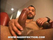 Steve Cruz interviews his friend Hal Griffin about growing up in London and the types of guys that he likes before convincing him to strip off his jeans and show off his giant uncut cock and low hanging balls. The golden afternoon sun highlights every bulging muscle as Hal works out his massive load that he had been saving up for Steve.Solo, Masturbation, Jerk-Off, Tattoos, Uncut, Muscle
