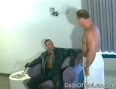 Waiting For Cop Dick - older amateur gay cops fucking on home private cam