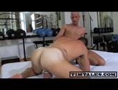 Hard Bareback Fucking - hot muscled amateur hunks smashing each other hard in the ass