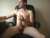 Big Tool - amateur naked cutie stroking his manhood in this video