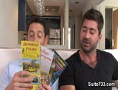 Married man Ari Silvio is looking for some new things to do with his wife instead of the same old routine. He came across taking his wife on a hummer tour and wanted to tell friend Berke Banks all about it.