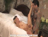Alexsander Freitas and Vic Kivac - hot horny tattooed amateur hunks in some hardcore anal action