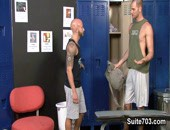 Gym-rat Drake Jaden heads to the gym locker room to find his old college crush Cole Streets. They catch up and swap college stories and Drake learns that Cole has been made an honest man and got married.