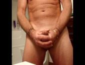 Me masturbating and cumming in my bathroom on cam