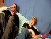Toegasms - horny young amateur twinks ticking each other on a couch in this video