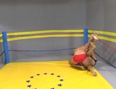 Julian V - Renato @ www.wrestlehard.com - hot amateur nude muscular guys wrestling hard