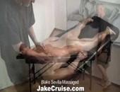 Blake Sevilla Is Massaged