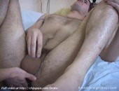 Tasty naked stud gay is pushing big dildo into virgin asshole of juicy boy on sofa. More video @ http:www.chipgays.combroke